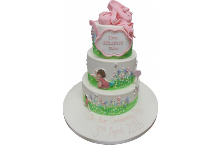 Belle & Boo Tiered Cake