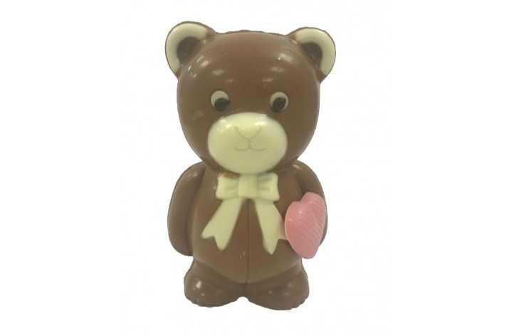 Milk Chocolate Bear with Heart