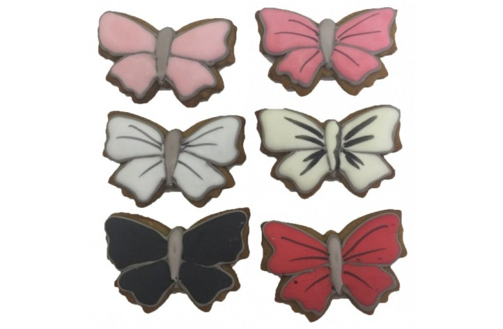 Butterfly Shaped Biscuits