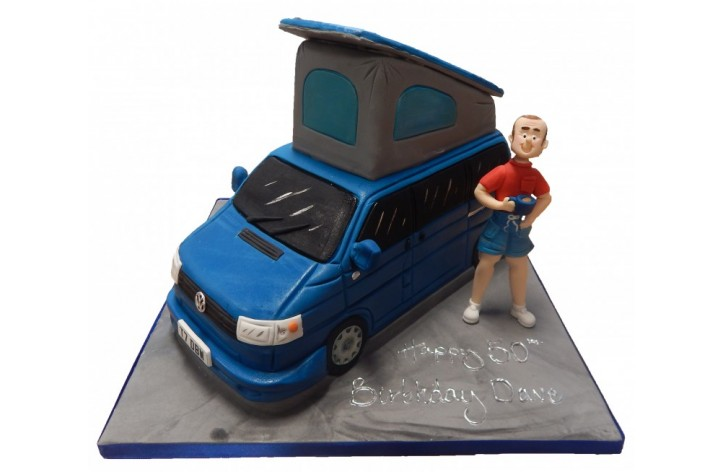 Campervan & Figure