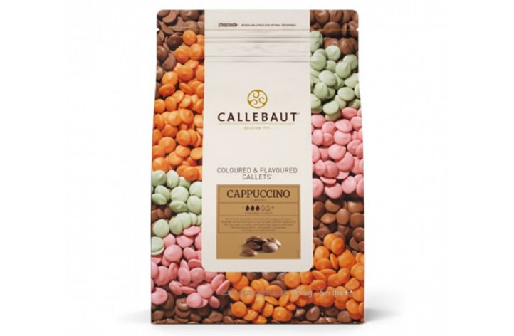 Barry Callebaut Cappuccino Chocolate Callets 2.5kg