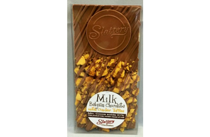 Small Milk Chocolate Bar with Cinder Toffee
