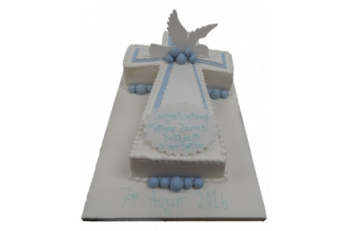 Cross & Dove Cake