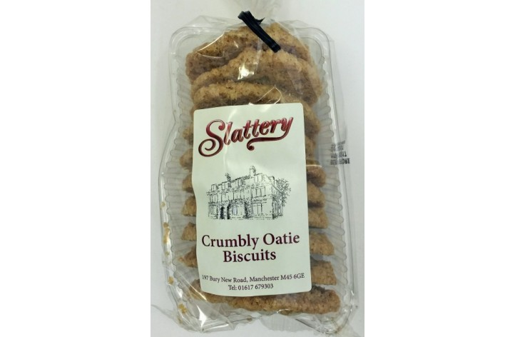 Crumbly Oaty Biscuits