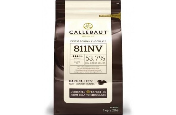 Barry Callebaut (811) Dark Chocolate Callets 1kg