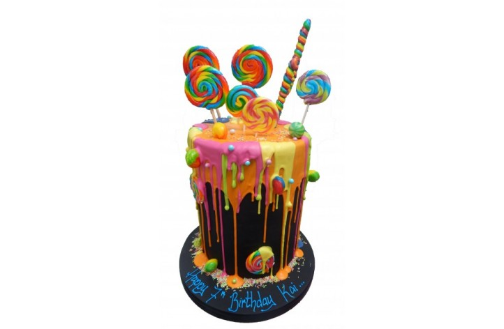 Deep Drizzle Sweet Explosion Cake