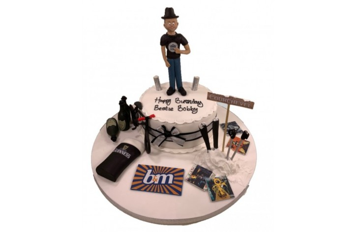 Figure & Hobbies Cake