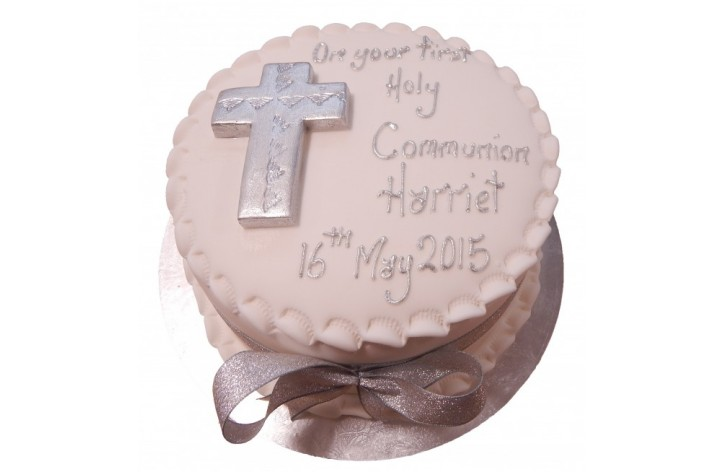 Holy Communion Simple Cake