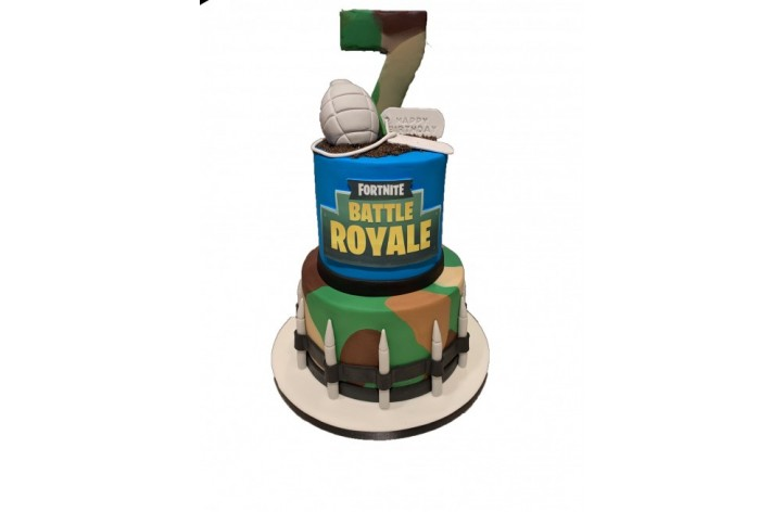 Fortnite Tiered Cake