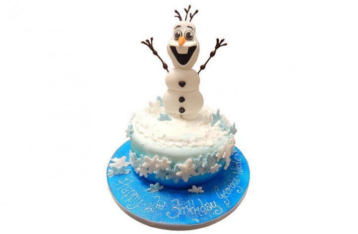 Frozen Sugar Olaf and Snowflake