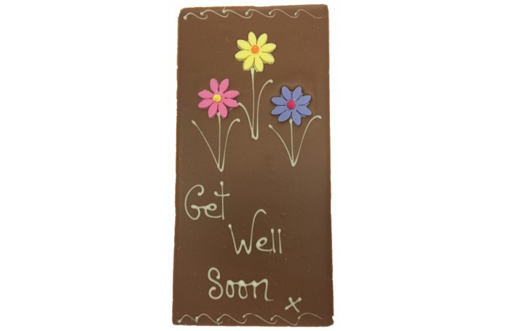 Large Chocolate Bar - Get Well Soon