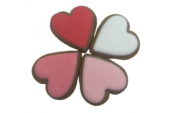 Mini Heart Shaped Biscuits