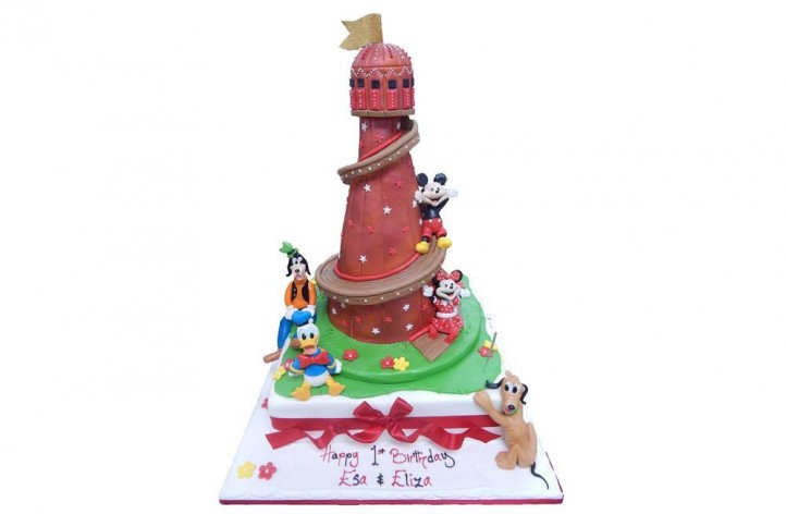 Helter Skelter & Disney Figures