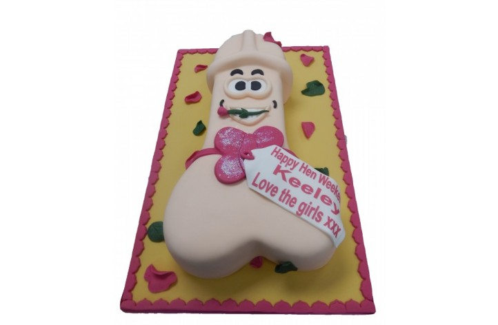 Hen Party Willy Cake