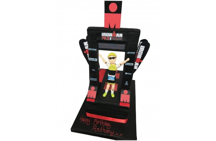 Ironman Race Cake