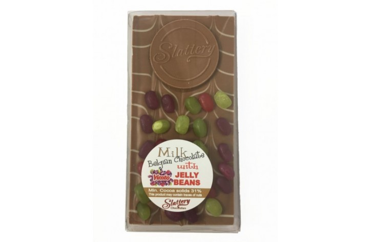 Milk Chocolate Bar with Vimto Jelly Beans
