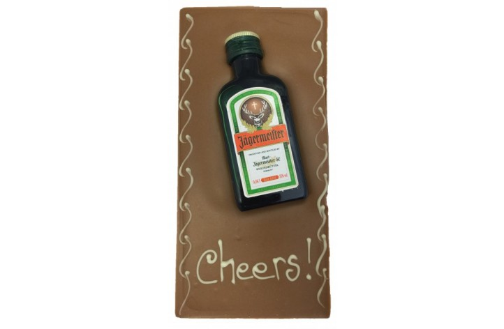 Large Chocolate Bar - Jagermeister