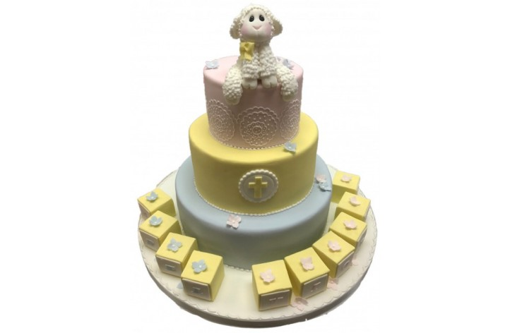 Lamb Tiered Cake