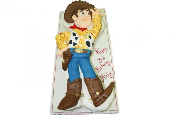 Lay Down Woody Figure