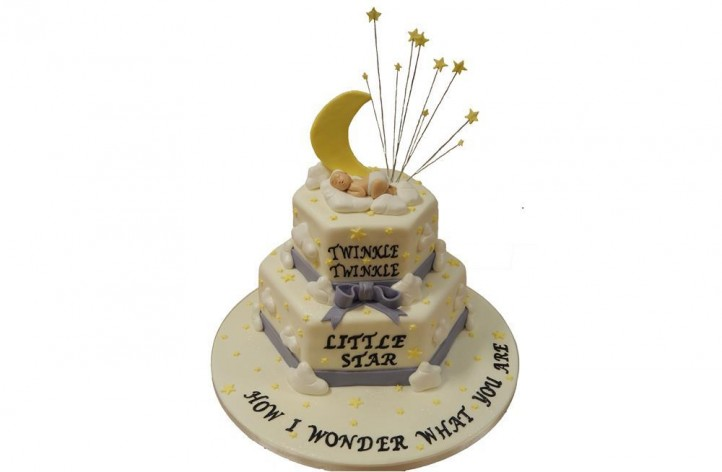 Little Star Tiered Cake