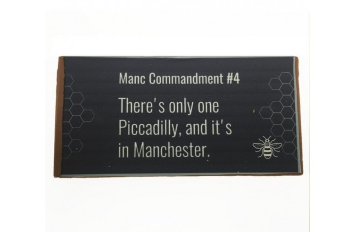 Manc Commandment Chocolate Bar