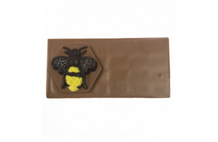 Small Chocolate Bar with Dark Chocolate Manchester Bee