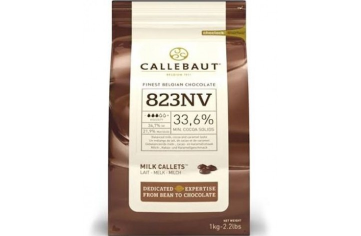 Barry Callebaut (823) Milk Chocolate Callets 1kg