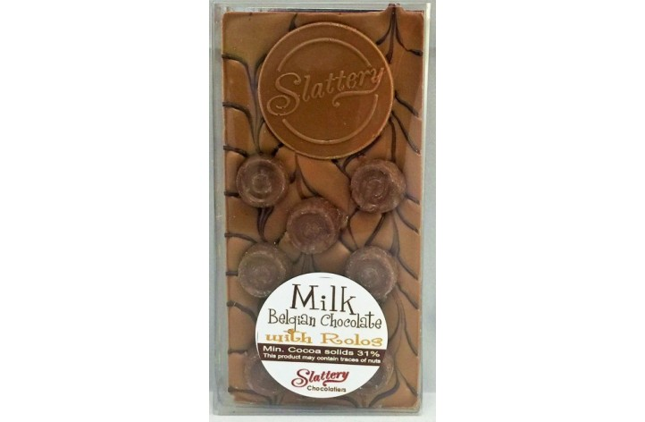 Small Milk Chocolate Bar with Rolos