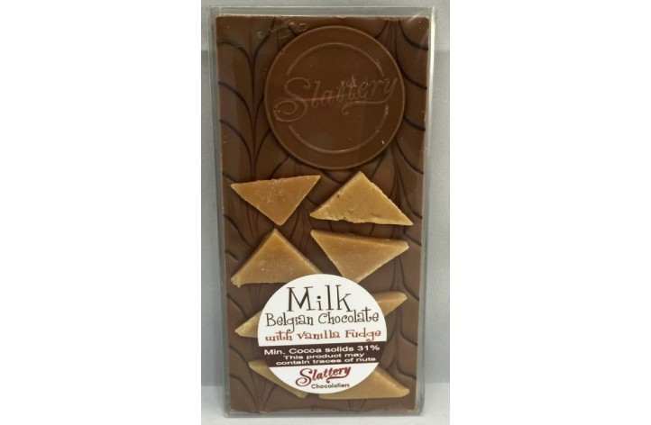 Small Milk Chocolate Bar with Fudge
