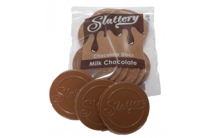 Milk Chocolate Discs