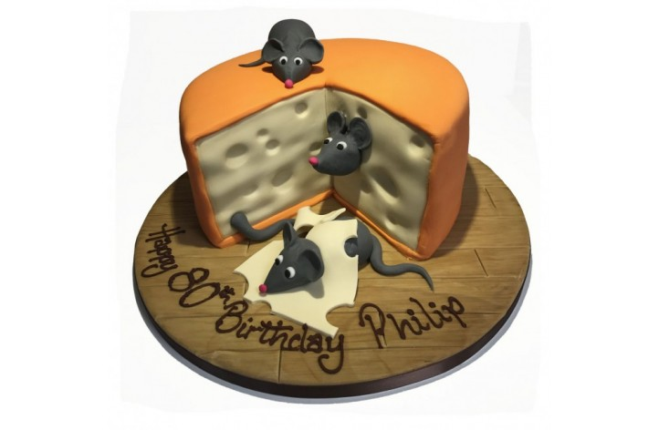 Mouse & Cheese Cake