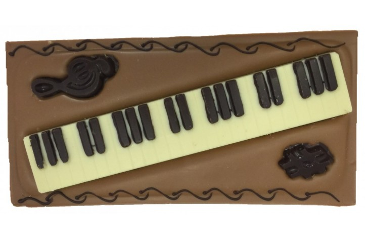 Large Chocolate Bar - Music