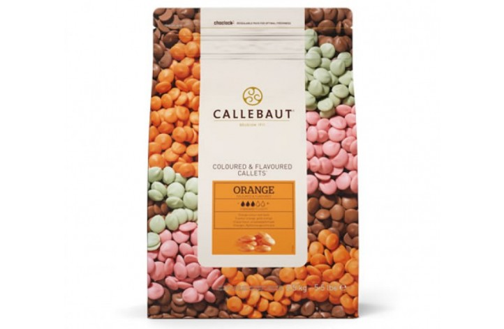 Barry Callebaut Orange Chocolate Callets 2.5kg