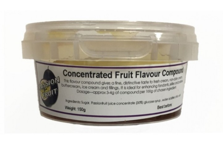 Passionfruit Compound Flavouring 150g