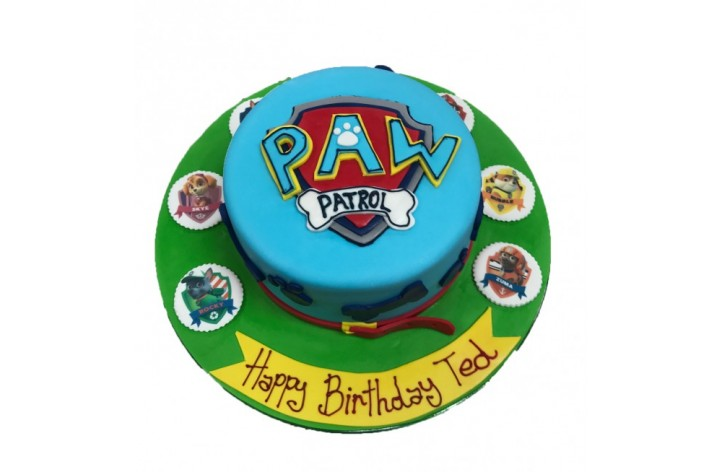 Paw Patrol Logo and Scans