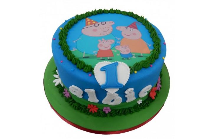 Peppa Pig Birthday Cakes