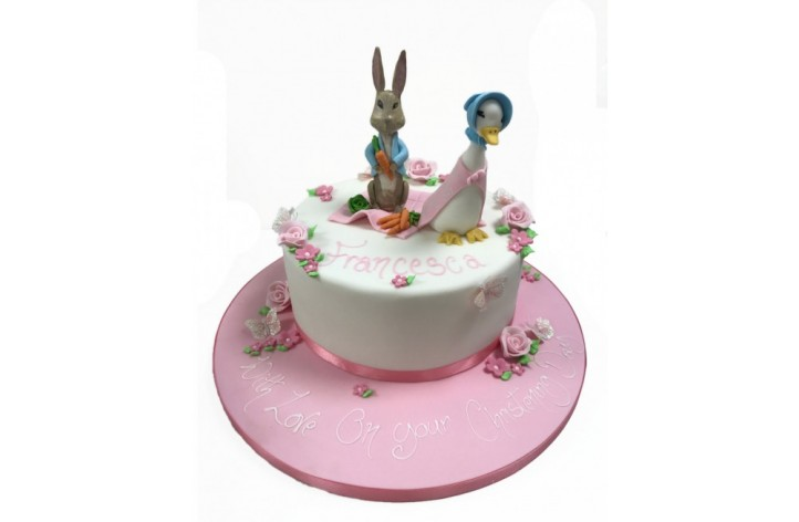 Peter Rabbit & Jemima Puddle-Duck Cake
