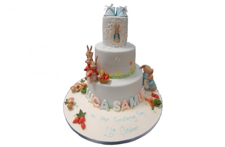 Peter Rabbit & Friends Tiered Cake