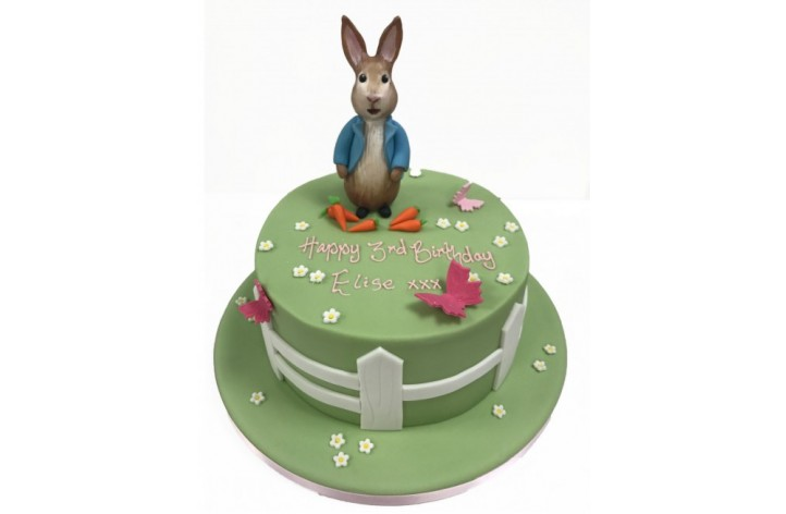 Peter Rabbit & Pastel Scene