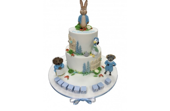 Peter Rabbit Tiered with Friends