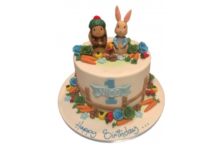 Peter Rabbit & Friend with Detail