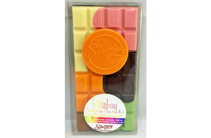 Small Rainbow Chocolate Bar