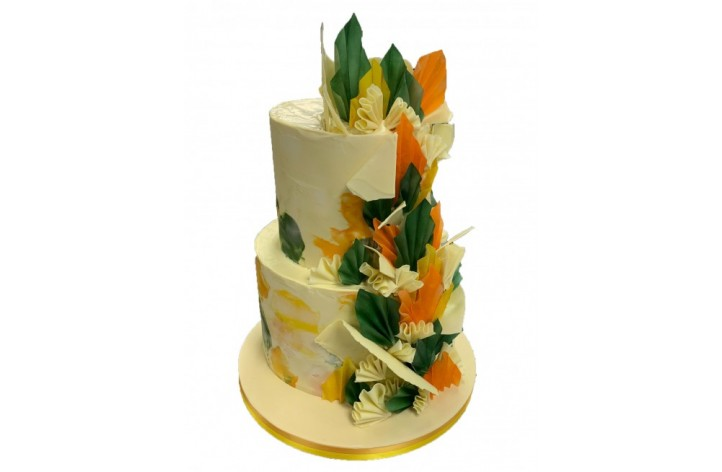 Tropical Chocolate Shard Wedding
