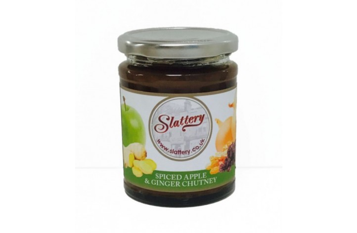 Spiced Apple & Ginger Chutney