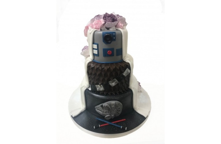 Mr & Mrs Star Wars Themed