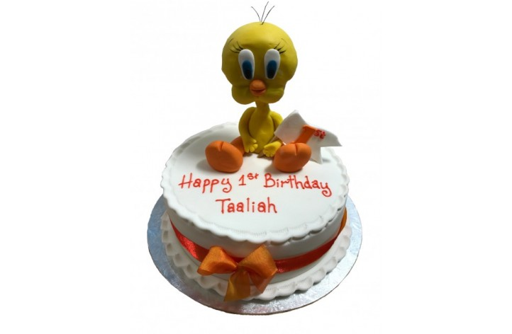Tweety Pie Figure Cake