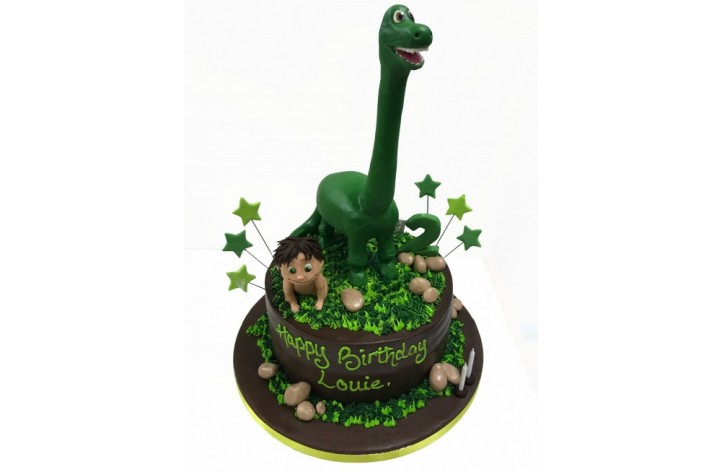 The Good Dinosaur With Figure Cake