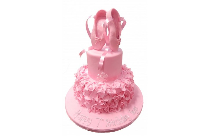 Tiered Ballet Cake