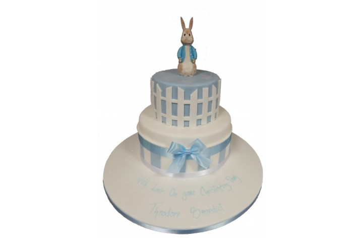 Peter Rabbit Tiered Cake