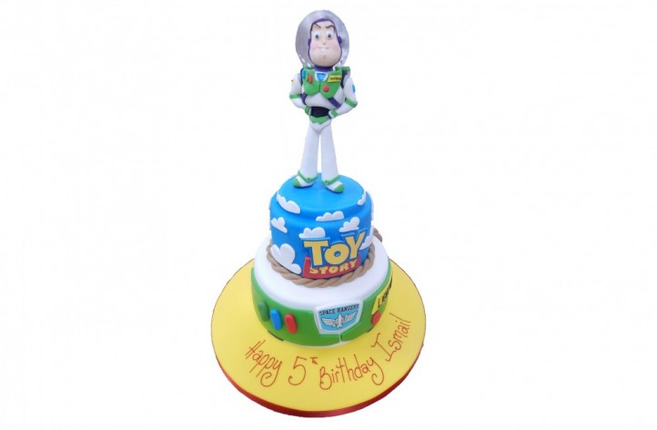 Toy Story with Buzz Tiered Cake